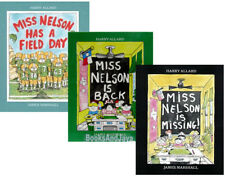 Miss Nelson is Missing,Miss Nelson Is Back,Miss Nelson Has A Field Day paperback