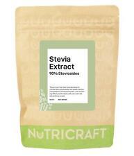 STEVIA pure extract powder - 90% Steviosides - sweetener - pick size