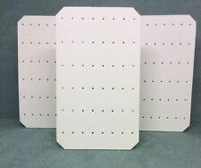 Set di 3 Gioielli Display Orecchino CARDS (avorio in Similpelle)
