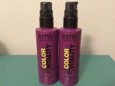 2 KMS California Color Vitality Shine and Shield  5.1 oz each Color Protection
