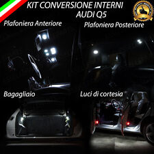 KIT LED INTERNI AUDI Q5 8R CONVERSIONE COMPLETA ALTA LUMINOSITA'
