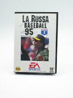 La Russa Baseball 95 Sega Genesis Complete Tested Free Shipping