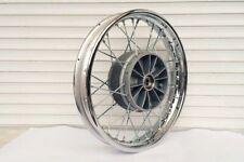 "16"" Verchromte Original JAWA 350 250 175 559 CZ Rad ruota wheel rueda roue New"