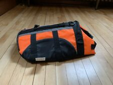 Small Medium Orange DOG Life Preserver DOG LIFE JACKET New