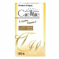 Made in JAPAN YUWA Cure white 180tablets Whitening supplement / Tracking SAL