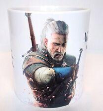 Le STREGHE 3 Caccia Selvaggia-Tazza da caffè Cup-Geralt-ps4-XBOX-Gioco per PC