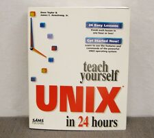 """""""Teach Yourself UNIX in 24 Hours"""" by Dave Taylor 1997 1st Edition"""