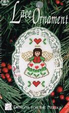 Angel Lace Ornament Counted Cross Stitch Kit - NEW