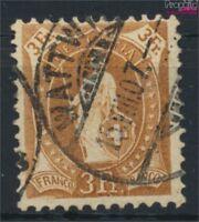 Schweiz 80D gestempelt 1905 stehende Helvetia (9045664
