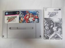 SNES -- RUSHING BEAT -- Super famicom, Japan game, work fully!! 12052