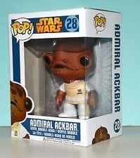 Funko Pop Star Wars Admiral Ackbar Bobble Head Figure #28