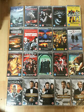 PSP UMD Movies  x 20 new & sealed mixed titles RRP £50+  (box 158)