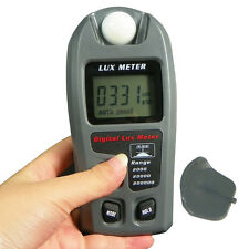 Digital Light Meter LCD Luxmeter Lux/FC Luminometer Photometer Measure