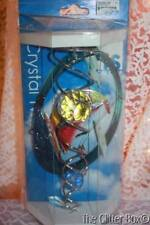 Crystal Twister Wind Spinner Red Sail Boat 3D Animated Iron Stop Yard Decor USA