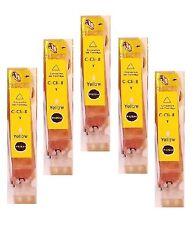 5 gelbe Patronen für Canon PIXMA IP4200 IP4300 IP4500 IP3300 IP5200R IP5300