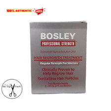 Bosley Hair Regrowth Treatment Minoxidil Solution 2% for Women-Two Months Supply