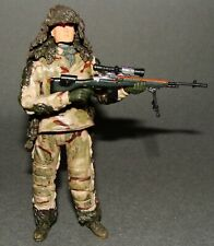 1:18 BBI Elite Force U.S Army Sniper Team Recon Military Action Figure 4""