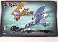 Wingnut Wings Pfalz D.IIIa 1/32 Scale Model Kit WWI German Biplane Unbuilt NEW