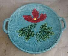 antike Keramik Platte Schale Relief Jugendstil #2