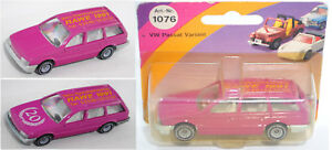 Siku Super 1076 VW Passat Variant, verkehrspurpur, RAWE 1991, Sondermodell