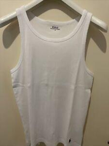 Polo Ralph Lauren Vest Men's White 2 Pairs