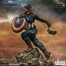 Iron Studios Marvel Avengers Endgame Captain America Art Scale 1/10 Scale Statue