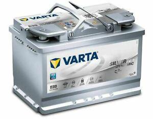 Varta Silver Dynamic AGM E39 70Ah 12V ersetzt Start-Stop Plus 60 65 74 75 80Ah