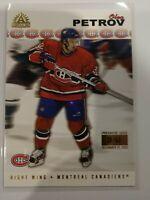 2001-02 Pacific Adrenaline Oleg Petrov #98 Premier Date /62