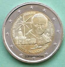 Vatikan 2 Euro 2020 Geburtstag Johannes Paul II. Gedenkmünze commemorative coin