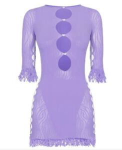 Poster Girl One Size Miranda Dress In Lilac READ DESCRIPTION