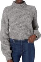 The Kooples Gray Merino Wool-Blend Turtleneck Sweater Women's Size 2 83410