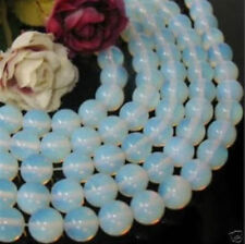 Wholesale 5 Strands 6mm Sri Lanka Moonstone Round Loose Beads 15