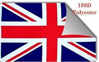 THREE PACK 3x5 British Union Jack United Kingdom UK 150D Flag 3'x5' Banner