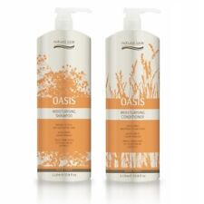 Natural Look Oasis Moisturising Shampoo & Conditioner 1L Nourishes & Strengthens