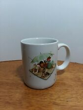 Norman Rockwell Museum Collection 1987 Fisherman's Paradise Mug Great Condition