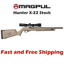 MAG548-FDE Magpul X-22 Stock/Chassis for Ruger 10/22 X22 1022 - Flat Dark Earth