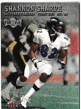 2000 Fleer Metal Shannon Sharpe Football Trading Card #36 Baltimore Ravens