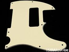 *NEW Cream P-90 Telecaster PICKGUARD for USA Fender Tele P90 8 Hole 3 Ply