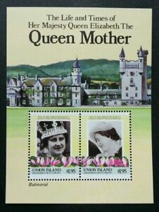 [SJ] St. Vincent The Life And Times Of H.M Queen Elizabeth II 1985 Royal (ms MNH