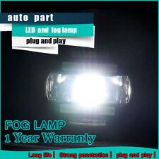 2009-2014 For NISSAN Murano FOG LIGHTS LED DRL RUNNING LAMPS DRIVING BUMPER LAMP