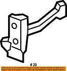FORD OEM 15-18 F-150-Door Check Arm Stop Hinge Strap FL3Z1627204A