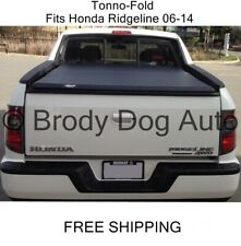 TRI-FOLD Tonneau Bed Cover For Honda Ridgeline 2006-2014 By Tonno Pro 42-600