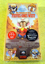 An American Tail Fievel Goes West ~ New VHS Movie ~ Rare McDonald's Promo Video