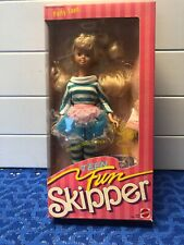 New! Teen Fun Skipper- Party Teen- Mattel 1987 # 5889 UNOPENED.