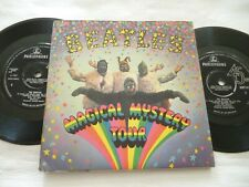 The Beatles (magic mystery tour) e p with booklet 1967 mmt -1 mono rare