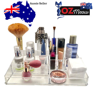 Ozmeow Clear Acrylic Makeup Organizer | Awesome Storage for Anything