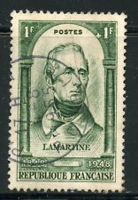 STAMP / TIMBRE FRANCE OBLITERE N° 795 / CELEBRITE LAMARTINE