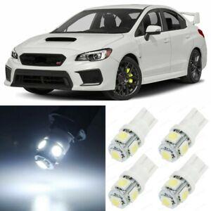 10 x Xenon White Interior LED Lights Package For 2015- 2019 Subaru WRX STI +TOOL