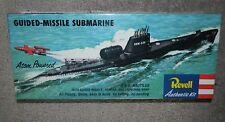 SEALED REVELL Authentic Kit Atom Powered Guided-Missile Submarine USS Nautilus