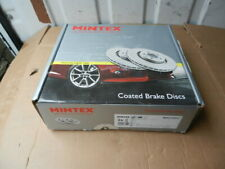 Mintex MDC1751C Front Coated Brake Discs (PAIR)- Mercedes A Class / B Class